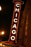 Segno del Chicago Fotografie Stock Libere da Diritti