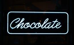 Segno del cioccolato fotografie stock libere da diritti