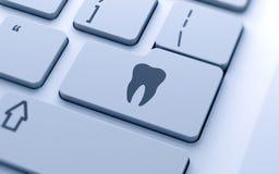 Segno del dente illustrazione di stock