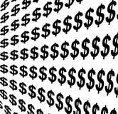 Segno del dollaro Immagini Stock