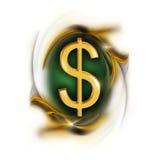 Segno del dollaro Immagine Stock