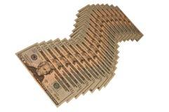 Segno del dollaro Fotografie Stock