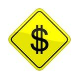 Segno del dollaro Immagini Stock Libere da Diritti
