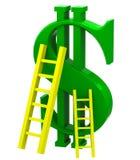Segno del dollaro Fotografie Stock Libere da Diritti