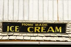 Segno del gelato Fotografie Stock