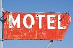 Segno del motel Fotografie Stock Libere da Diritti