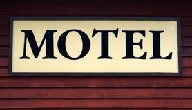 Segno del motel Immagini Stock Libere da Diritti