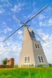 Segno del mulino a vento di olandese come fondo Immagine Stock Libera da Diritti