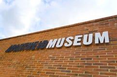 Segno del museo di segregazione Immagine Stock