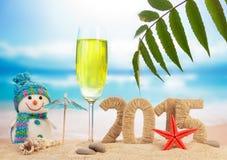 Segno del nuovo anno 2015 Immagini Stock Libere da Diritti