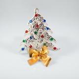 Segno del nuovo anno 2015 con il giocattolo dell'albero di hristmas del  di Ñ sopra Fotografia Stock Libera da Diritti