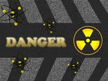 Segno del pericolo Immagini Stock