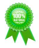 Segno del prodotto ecologico Fotografia Stock