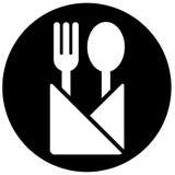 Segno del ristorante Fotografia Stock Libera da Diritti