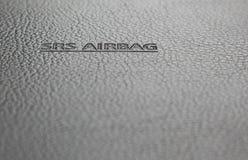 Segno del sacco ad aria di SRS Fotografie Stock Libere da Diritti