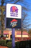 Segno del Taco Bell immagini stock