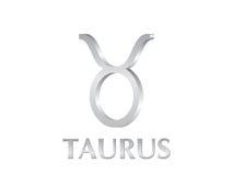 Segno del Taurus Fotografie Stock Libere da Diritti