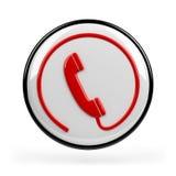 Segno del telefono Fotografie Stock