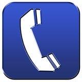 Segno del telefono Fotografia Stock