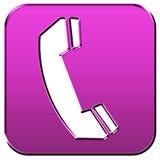 Segno del telefono Immagine Stock
