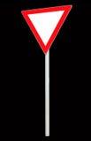Segno del triangolo (libero) Fotografia Stock Libera da Diritti