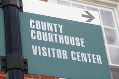 Segno 2 del tribunale immagine stock