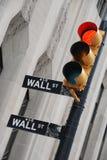 Segno del Wall Street Immagini Stock