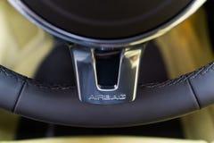 Segno dell'airbag Fotografie Stock Libere da Diritti