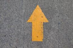 Segno dell'asfalto Immagini Stock