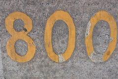 Segno dell'asfalto Fotografia Stock Libera da Diritti