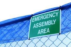 Segno dell'assemblea di emergenza Immagini Stock