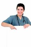 Segno dell'infermiera Immagini Stock