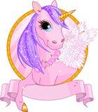 Segno dell'unicorno Fotografie Stock Libere da Diritti