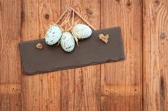 Segno dell'uovo di Pasqua Immagini Stock