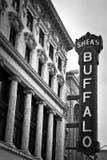 Segno della Buffalo Fotografia Stock Libera da Diritti