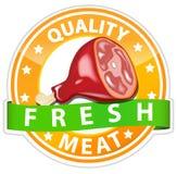 Segno della carne Fotografia Stock