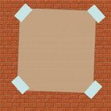 Segno della carta di Brown inviato illustrazione vettoriale