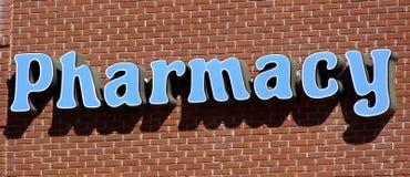 Segno della farmacia Immagini Stock Libere da Diritti