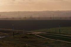 Segno della ferrovia Fotografie Stock