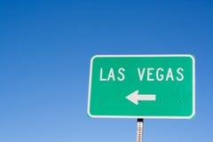 Segno della freccia di Las Vegas Fotografia Stock