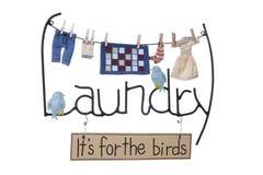 Segno della lavanderia immagini stock libere da diritti