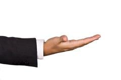 Segno della mano isolato Fotografia Stock Libera da Diritti