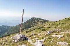 Segno della montagna Immagini Stock Libere da Diritti