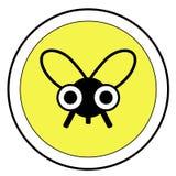 Segno della mosca Immagine Stock