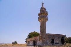 Segno della moschea musulmana sgranata guerra Fotografia Stock
