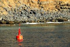 Segno della navigazione di galleggiamento Fotografia Stock