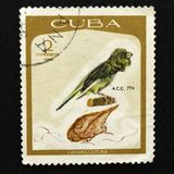 Segno della posta cubana fotografia stock libera da diritti