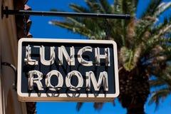 Segno della stanza del pranzo Immagini Stock Libere da Diritti