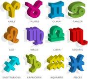 Segno dello zodiaco illustrazione di stock