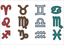 Segno dello zodiaco Fotografia Stock
